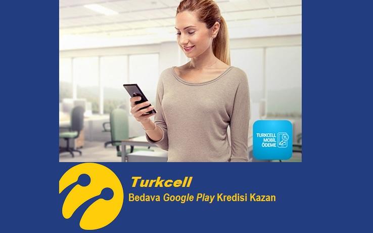 Turkcell'den Bedava Google Play Kredisi Al