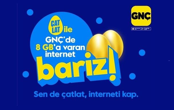 GNÇ Yumurta Çatlat Uygulaması ile 8 GB İnternet Kazan