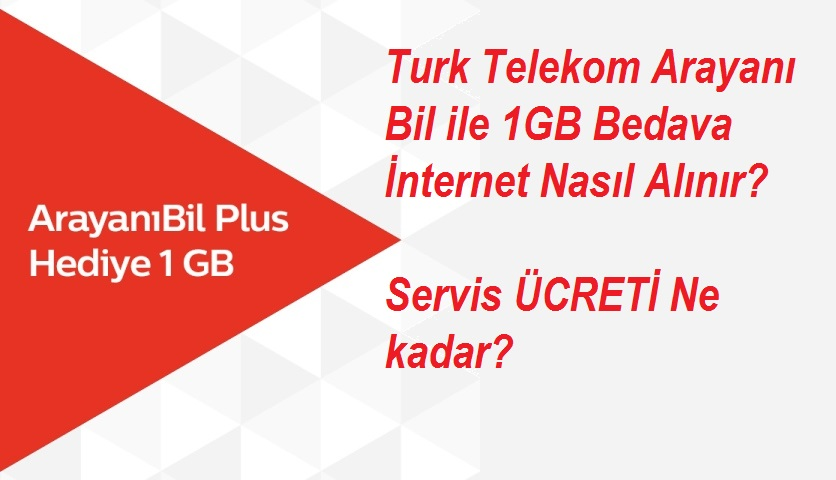 Photo of Turk Telekom Arayanı Bil ile 1GB Bedava İnternet