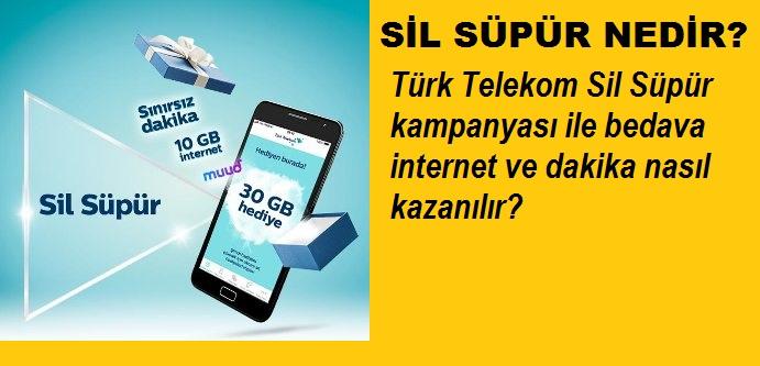 Türk Telekom Sil Süpür nedir? Nasıl İnternet alınır?