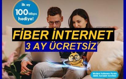 3 Ay Ücretsiz Turkcell Evde Telefonsuz Fiber İnternet