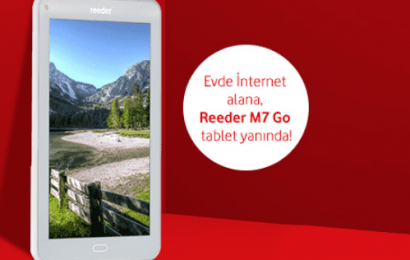 Vodafone Tablet Hediyeli İnternet