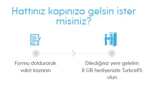 Turkcell'e yeni geçişlerde 8GB internet bedava