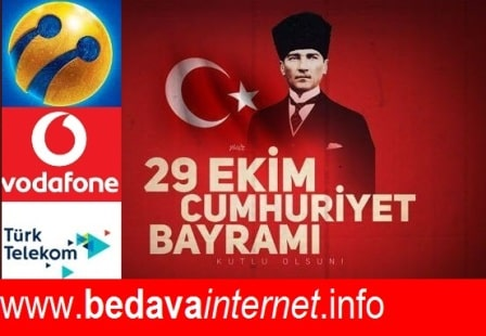 Photo of 29 Ekim 2019 Türk Telekom, Vodafone ve Turkcell