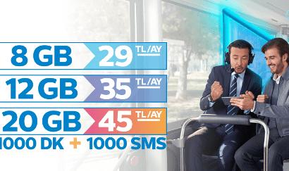 Türk Telekom Efsane Tarifeler 8GB internet 29TL