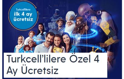 Turkcel Ev İnterneti ilk 4 ay Ücretsiz ve Paket Fiyatları