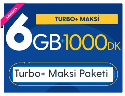 Photo of Turkcell 6 GB Turbo+ Maksi Paketi
