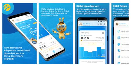 Turkcell Dijital Operatör uygulaması indir