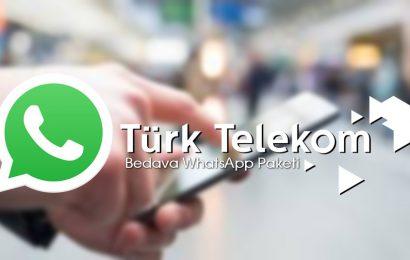 Türk Telekom Bedava Whatsapp