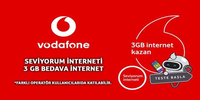 Seviyorum İnternet Testi Vodafone