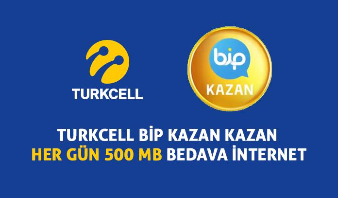 Turkcell Her Gün 500 MB Bedava İnternet Paketi