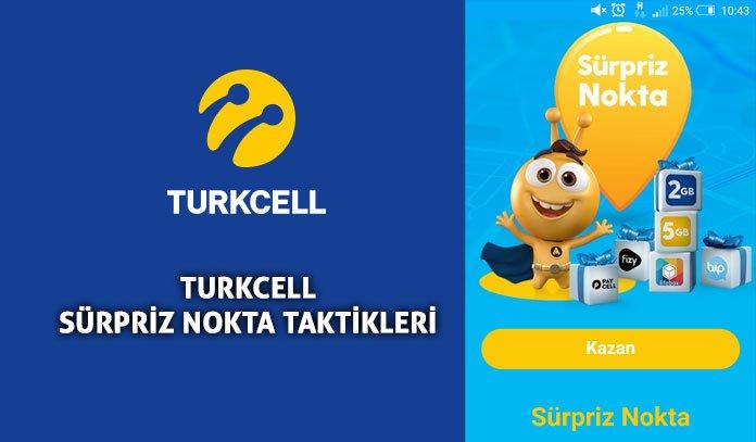 Photo of Güncel Turkcell Sürpriz Nokta Taktikleri