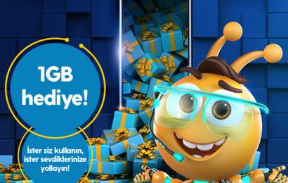 Turkcell Her Gün 1 GB Bedava İnternet Kazanma Fırsatları