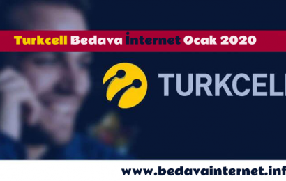 Turkcell bedava internet kazanmanın adresi bedavainternet.info
