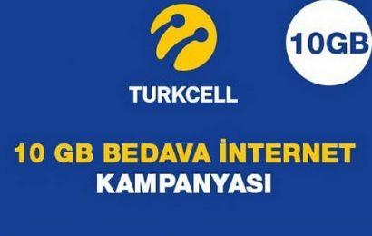 Turkcell Promosyon Koduyla 10 GB Bedava İnternet