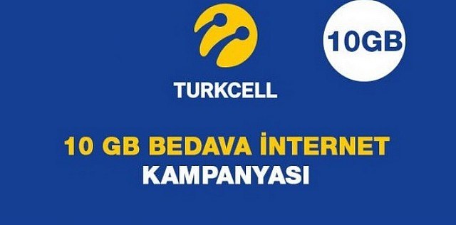 Photo of Turkcell Promosyon Koduyla 10 GB Bedava İnternet