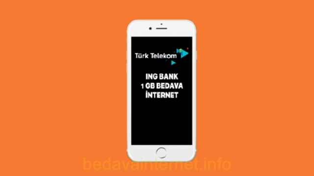 Türk Telekom İNG Bedava İnternet