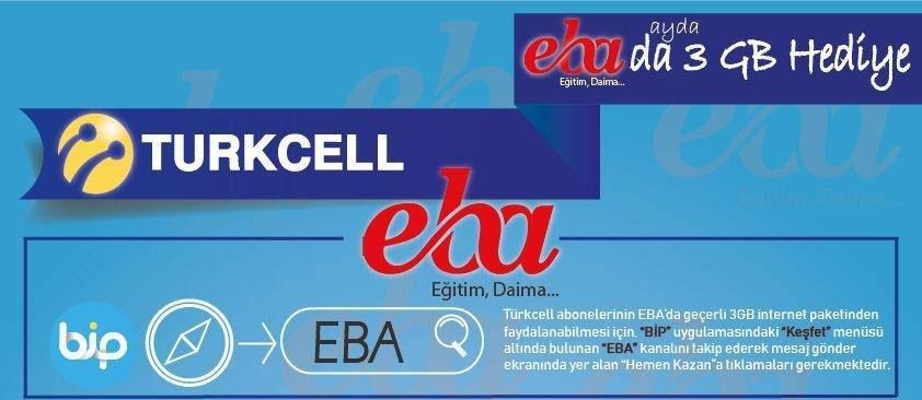 Photo of Turkcell EBA Hediye İnternet Nasıl Alınır?