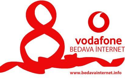 Vodafone 8 Mart Bedava İnternet