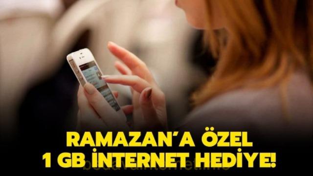 81 Milyon Hediye İnternet