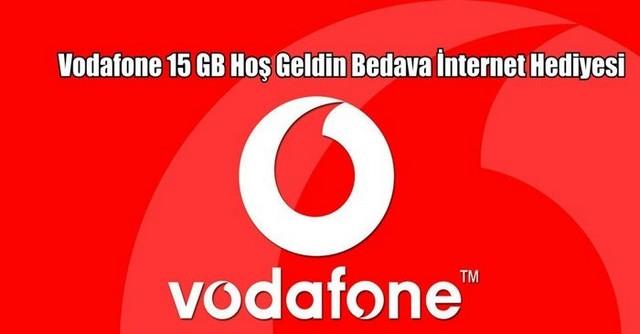 Numarasını Vodafonea Taşıyanlara Bedava İnternet Kampanyası