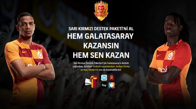 Turkcell Galatasaray Destek Paketi İle Bedava İnternet