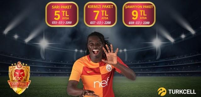 Turkcell Galatasaray Destek Paketi