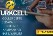 Photo of Turkcell Goller Cepte İle Bedava İnternet Kazan