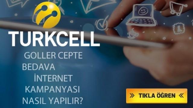 Turkcell Goller Cepte İle Bedava İnternet Kazan