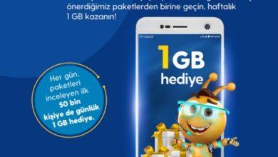 Photo of Turkcell Her Gün Bizce Uygulamasına Giren İlk 50 Bin Kişiye 1 GB Hediye
