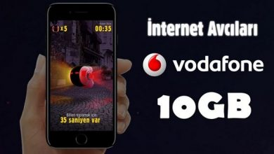 Photo of Vodafone İnternet Avcıları İle Hediye İnternet